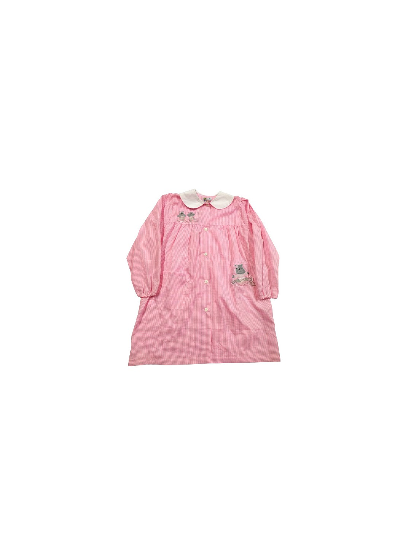 Grembiule quadretti rosa