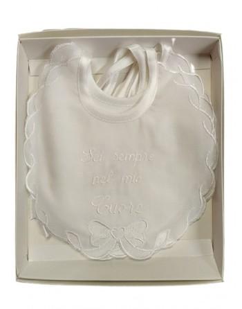 Bavetti batista eleganti neonato