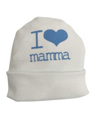 Cappello in puro cotone neonato 0-3 mesi