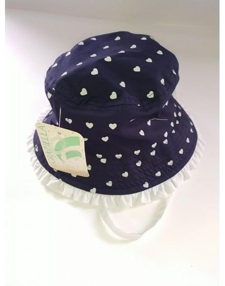 Cappello bambina cotone
