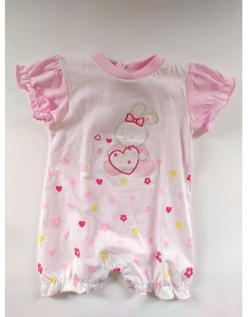 Pagliaccetto cotone mesi neonato
