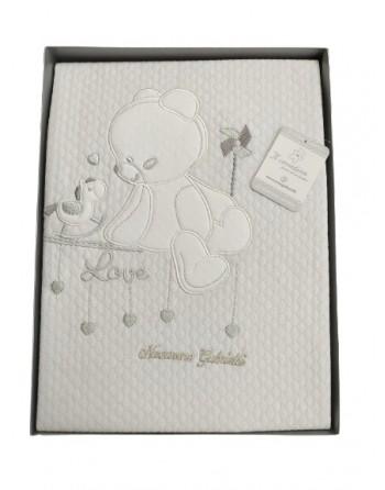 Copertina in cotone per culla lettino neonato