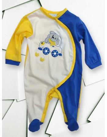 Tutina cotone neonato mesi manica lunga