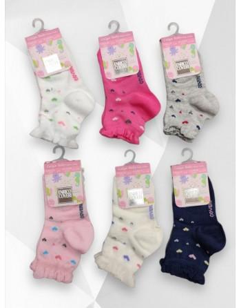 Calzini cotone corti neonato