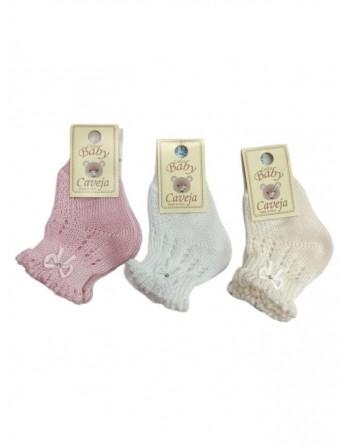 Calzini bucherellati in cotone da 11 a 18 taglia piede