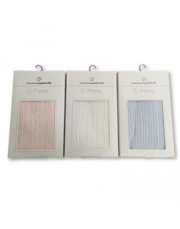 Copertina scialle cotone filo carrozzino