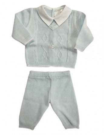 Completo in filo neonato 0-1 mese