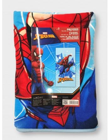 Telo mare spiderman in spugna 70x140cm