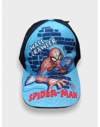 Berretto spiderman regolabile taglia magica 2-5 anni