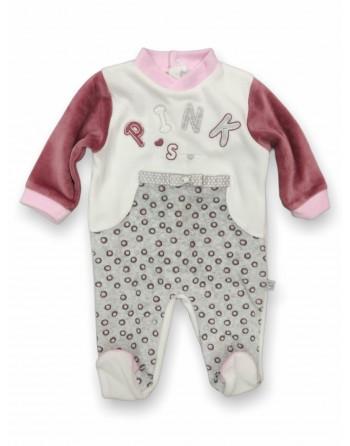 Tutina ciniglia neonata da 0 a 6 mesi