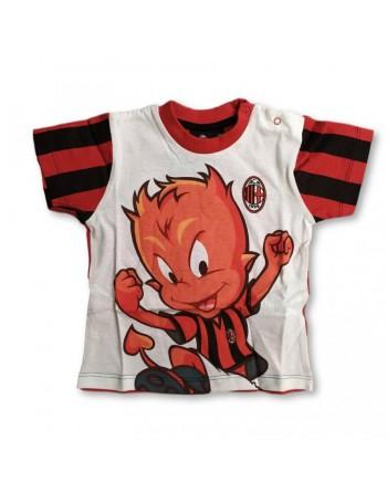 T-shirt cotone del MILAN da 12 a 36 mesi