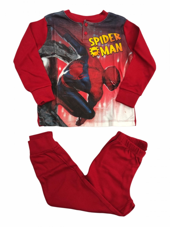Pigiama spiderman interlock 4 anni