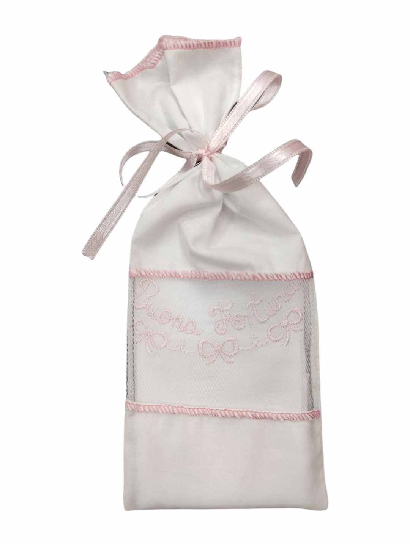 Camicina fortuna cotone sacchetto giro manica neonato 0-3 mesi