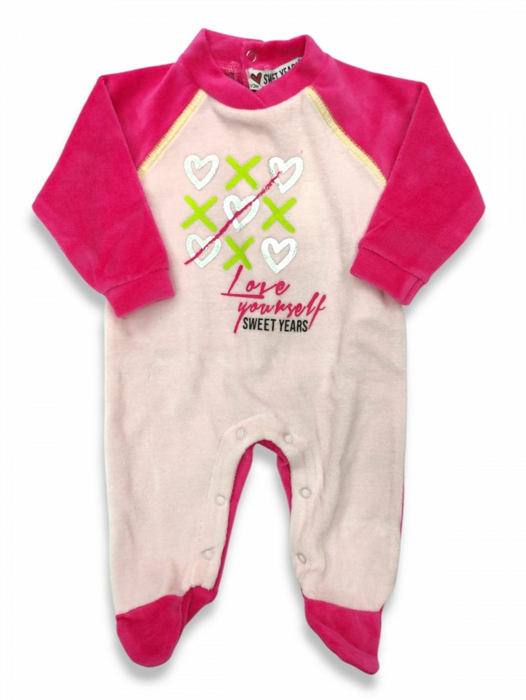 Tutina ciniglia neonata sweet years da 1 a 6 mesi