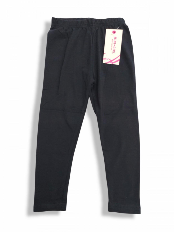 Leggings in cotone jersey da 4 a 16 anni blu