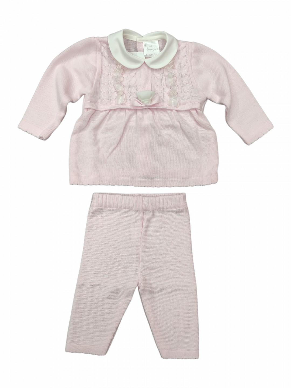 Abitino lana neonata 1-3 mesi elegante