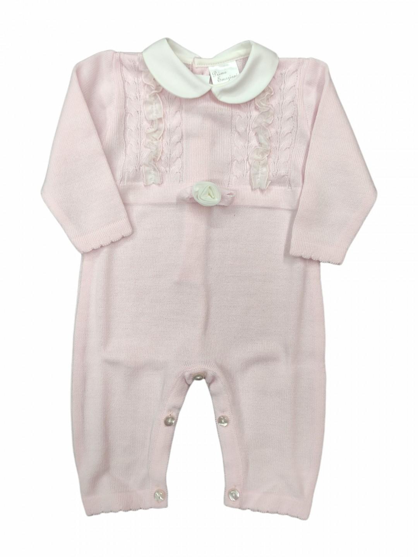 Tutina lana neonata 1-3 mesi elegante