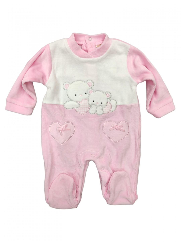 Tutina ciniglia neonata da 0 a 12 mesi