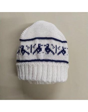 Cappellino cotone 0-3 mesi