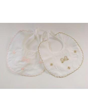 Bavetti batista cotone neonato