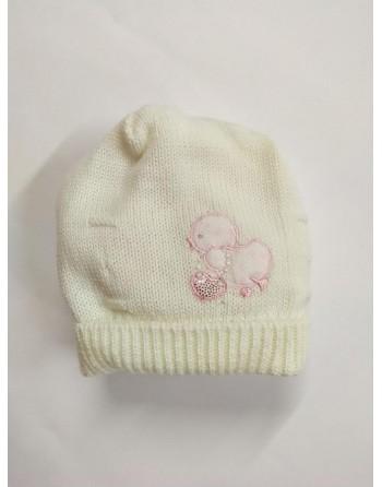 Cappellino lana 0-3 mesi