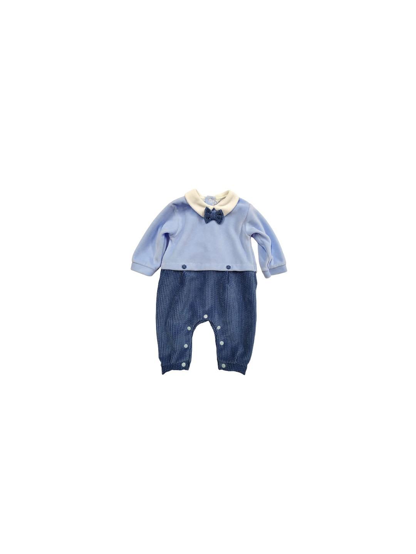 Tutina elegante ciniglia neonato 6 mesi